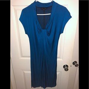GUC Banana Republic Women's Dress London Blue M